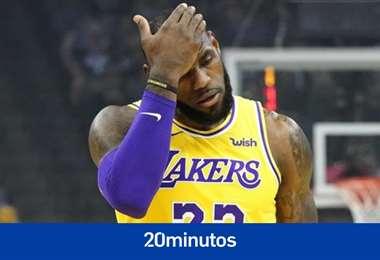 LeBron James, figura de los Lakers y de la NBA en EEUU. Foto: internet