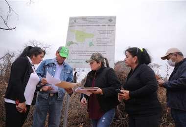 La Comisión detectó asentamientos autorizados por el INRA en un Área de Conservación