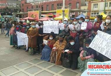 La Paz vició una jornada de megavacunación (GAMLP)