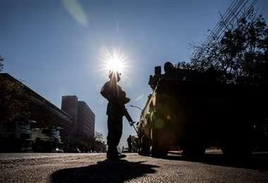 Hay una tensa calma en Sudáfrica tras los enfrentamientos