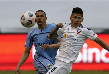 Gremio y Liga de Quito es una de las llaves más parejas. Foto: AFP