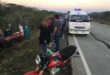 Saúl Morales Roca, fisiculturista, sufrió un accidente/Foto: Limber Cambará