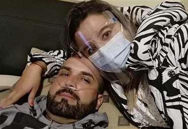 La foto que público en Facebook la esposa de Thiago Leitao