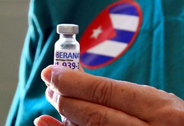 La vacuna cubana Soberana es una de las que más se aplica en la isla. Foto. Internet
