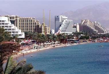 La ciudad de Eilat está situada a orillas del mar Rojo