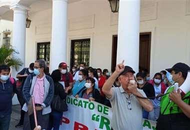 Foto archivo: los trabajadores realizarán una marcha hasta la plaza principal.