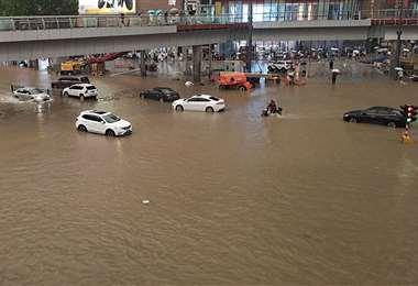 Hay alerta roja, el máximo nivel de riesgo para la meteorología en China