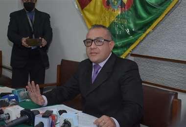 Cox, viceministro de Régimen Interior. Foto: APG Noticias