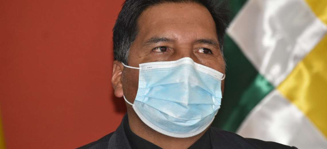 Adrián Quelca, ministro de Educación I APG Noticias.