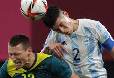Argentina quedó en el último lugar del grupo F de los juegos. Foto: AFP