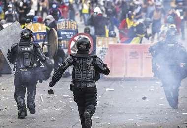 La policía ha sido denunciada por excesos en las manifestaciones