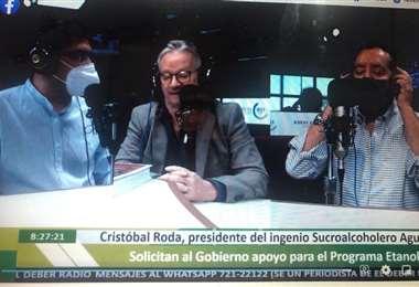 Cristóbal Roda estuvo en el programa Influyentes de EL DEBER Radio