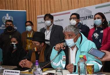 Las decisiones del COED en La Paz I AMN.