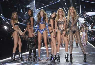 Los 'angeles' del último desfile para Victoria's Secret en noviembre de 2018