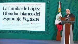 Lopez Obrador fue víctima del Pegasus