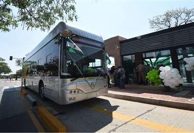 La primera fase del BRT se construyó sobre el primer anillo