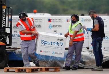 La Sputnik escasea en Latinoameríca