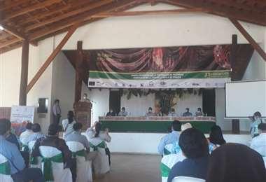 El encuentro congregó a varios sectores