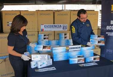La Aduana chilena decomisó más de 50.000 cajetillas de contrabando