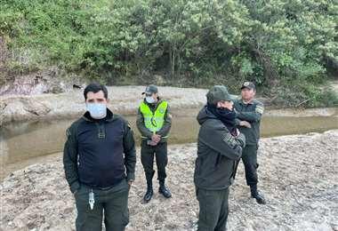 La Policía halló el cuerpo de Darlin la tarde de este viernes, a orillas de un río.