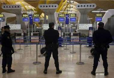 Foto referencial, aeropuerto de Madrid-Barajas