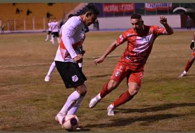 Nacional y Tomayapo pusieron más ímpetu que fútbol. Foto: APG Noticias
