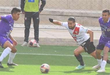 Ramallo tuvo mucha marca por parte de los jugadores de Real Potosí: APG Noticias