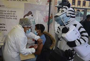 Vacunación Bolivia