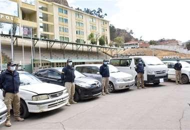 Tránsito realiza controles en las trancas de ingreso y operativos diversos