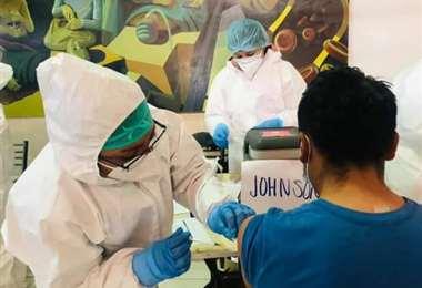 El Ministerio de Salud promueve la vacunación en Oruro Foto: Ministerio de Salud