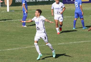 Edarlyn Reyes celebra su gol a San José. Foto: JC Torrejón