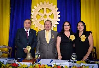 Ramiro Peña, Remberto Hurtado, Karina Rocabado y Fabiola Cardona