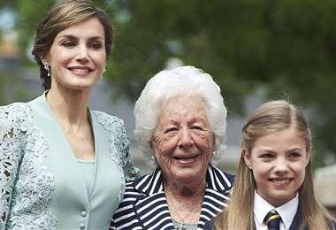 La abuela de Letizia tenía 93 años