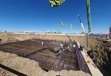La obra se construirá en El Alto/Foto: ABI
