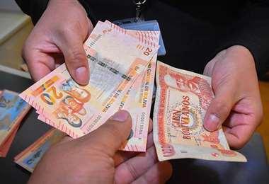 Según el SIN, existe una recuperación en la economía/Foto: APG