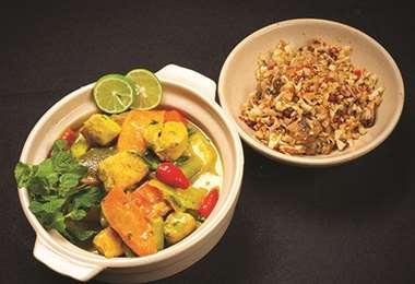 Curry de surubí