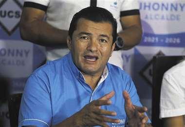 El alcalde Jhonny Fernández