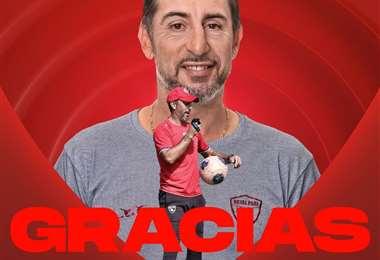 Royal Pari anunció este martes la partida de Cristian Díaz del club.