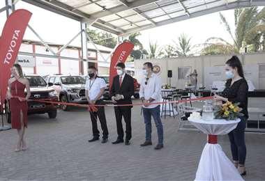Toyosa presentó su renovado showroom en Montero
