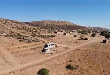 Imagen de parte de los terrenos en la zona de la Arbieto. Foto: ANP