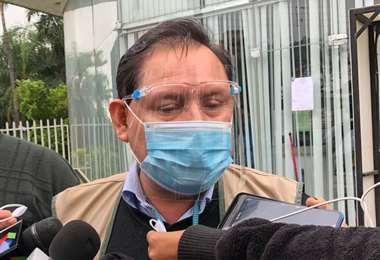 Eulogio Nuñez brinda conferencia de prensa