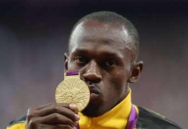Bolt se retiró de las pistas con ocho medallas de oro olímpicas. Foto: Internet