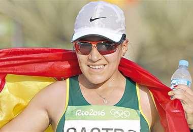 Ángela Castro participará por segunda vez en los Juegos Olímpicos. Foto: Internet