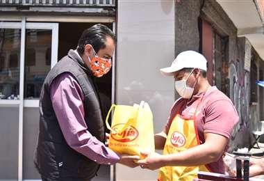 El aporte de Sofía llegará a negocios de Cochabamba, Santa Cruz, Sucre, La Paz, y El Alto