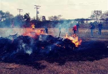 Gobernación capacita en extinción de incendios