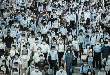 Japón afectado por la pandemia de Covid-19/Foto: AFP