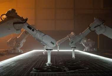 Jason Bruges y sus robots