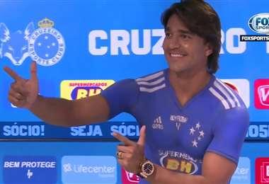 Marcelo Martins tiene contrato con Cruzeiro hasta el 2022. Foto: Internet