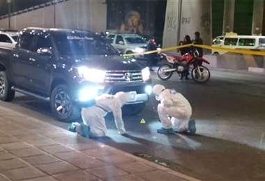 Policías investigan el hecho