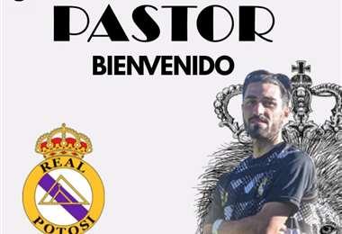 Fran Pastor vuelve a Real Potosí, club en el que jugó el año pasado.